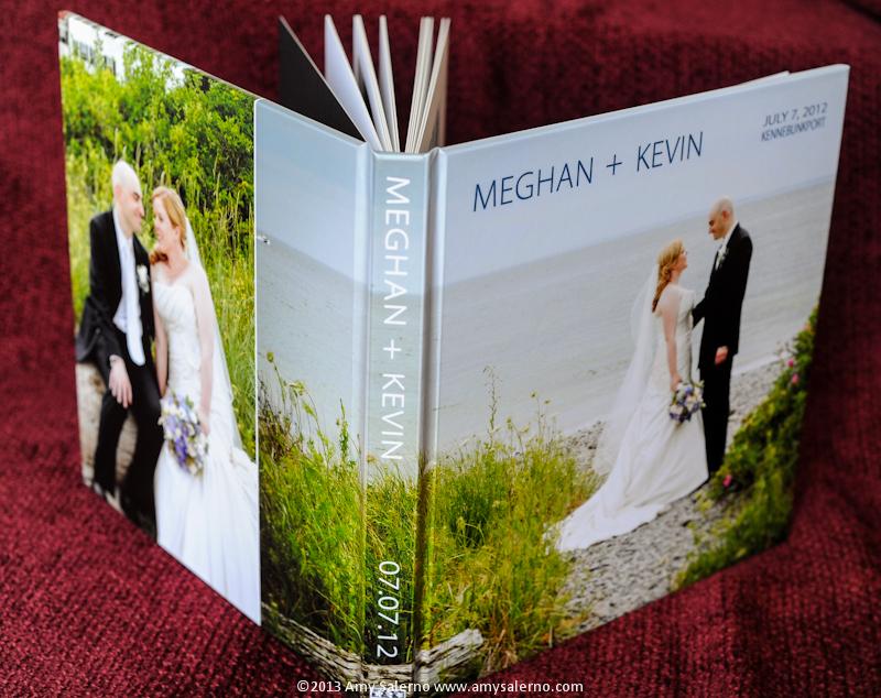 Custom Maine Wedding Book